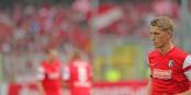 Mit seinen vier Toren (!) schoss Nils Petersen den SC Freiburg fast alleine in die zweite DFB-Pokalrunde. Foto: Eurojournalist(e)