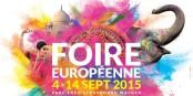 """Schon zum 83. Mal läutet die """"Foire Européenne"""" in Straßburg den europäischen Herbst ein! Foto: Veranstalter"""