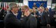 Jean-Claude Juncker bei seiner Ankunft im Europäischen Parlament in Straßburg mit Parlamentspräsident Martin Schulz. Foto: Claude Truong-Ngoc / Eurojournalist(e)
