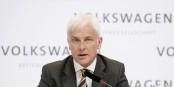 Le nouveau patron de VW, Matthias Müller, n'est pas à envier ces jours-ci... Foto: Volkswagen AG / Wikimedia Commons / CC-BY-SA 3.0