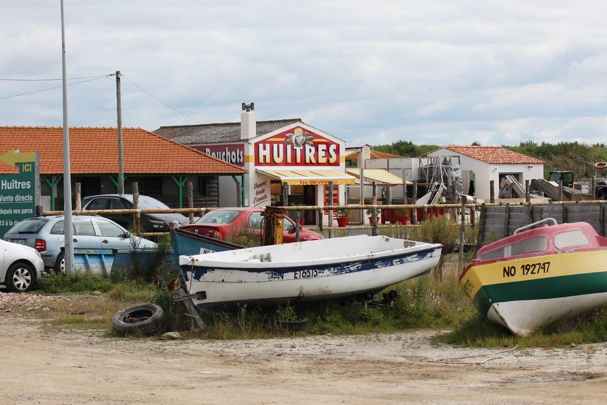 Sieht nach nichts aus - aber hier gibt es die besten Austern der Welt... Noirmoutier! Foto: Eurojournalist(e)
