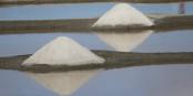 """Das """"weiße Gold"""", das beste Salz der Welt, von Hand in der Guérande geerntet. Man schmeckt den Unterschied... Foto: Eurojournalist(e)"""