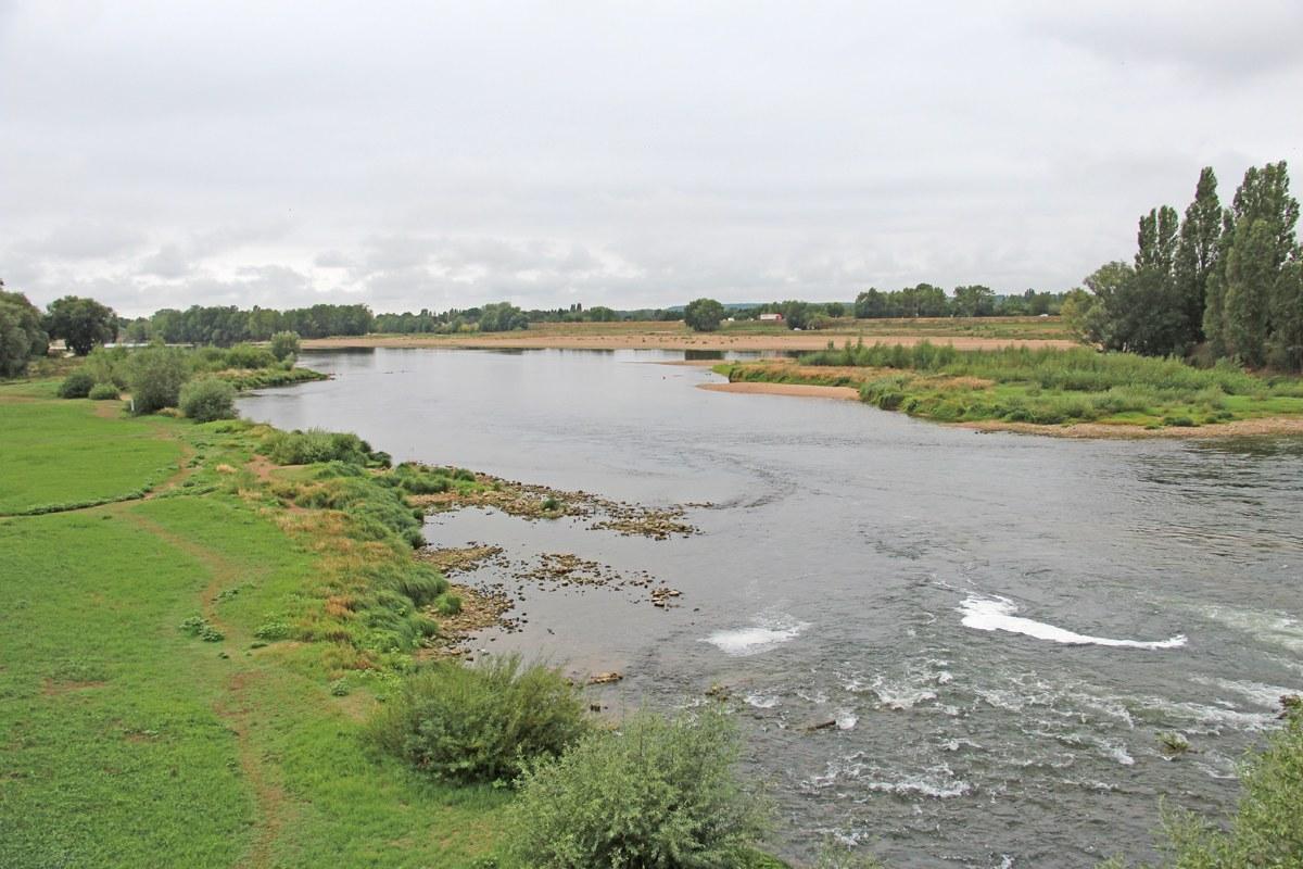 So mächtig waren früher einmal alle Flüsse in Europa. Wie gut, dass die Loire so belassen wurde, wie sie ist! Foto: Eurojournalist(e)