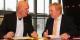 """Arne Gericke (à droite) de la """"Familienpartei"""" pendant l'interview avec Europjournalist(e). Foto: H. Gotthard / Eurojournalist(e)"""