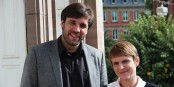 Nicolas Ehler und Violaine Varin haben ambitionierte Pläne für das Goethe-Institut im Osten Frankreichs. Foto: Eurojournalist(e)