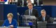 """François Hollande verkündete gestern in Straßburg die neue Devise Europas - """"Solidarität, Verantwortung, Entschlossenheit"""". Foto: Claude Truong-Ngoc / Eurojournalist(e)"""
