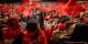 Une foule totalement acquise à la cause nationaliste d'Erdogan hier au meeting électoral strasbourgeois du président turc. Foto: Claude Truong-Ngoc / Eurojournalist(e)