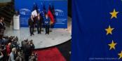 Les discours d'Angela Merkel et de François Hollande à Strasbourg - un appel pour plus de cohésion européenne. Sera-t-il entendu ? Foto: Claude Truong-Ngoc / Eurojournalist(e)