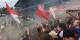 """Une vraie ambiance de derby hier à Karlsruhe - le 1-1 était sans doute un résultat """"juste""""... Foto: Flo Salah / Eurojournalist(e)"""