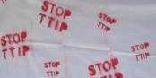 Le message des 250 000 manifestants à Berlin était clair et on pouvait le lire sur tous les supports... STOP TTIP ! Foto: Eurojournalist(e)