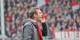 Beim letzten Gastspiel des FC Augsburg beim SC Freiburg im März 2015 hatte Gästetrainer Weinzierl reichlich Redebedarf... Foto: Eurojournalist(e)