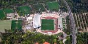 Le Wildpark à Karlsruhe accueille dimanche le derby badois entre le Karlsruher SC et le SC Freiburg. Foto: Sven Scharr / Wikimedia Commons / CC-BY 3.0
