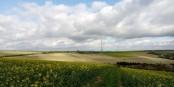 """La transition énergétique """"à l'alsacienne"""" est bien plus que le passage aux énergies renouvelables comme les éoliennes. Foto: Hundsbuckler / Wikimedia Commons / CC-BY-SA 4.0int"""