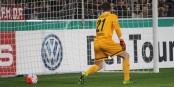 A trois reprises, le gardien fribourgeois Patrick Klandt a du chercher le ballon dans son but... Foto: Eurojournalist(e)