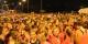 """21000 Teilnehmerinnen machten am Freitag aus dem Stadtlauf """"la Strasbourgeoise"""" einen Riesenerfolg im Kampf gegen den Brustkrebs. Foto: Eurojournalist(e)"""