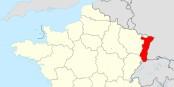 Les chiffres montrent un léger mieux pour la conjoncture en Alsace, avant que la région ne soit fusionnée le 1er janvier 2016. Foto: Sting, modifications par Wikiline / Wikimedia Commons / CC-BY-SA 3.0