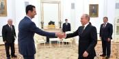 Bachir al-Assad et Vladimir Poutine - pourquoi est-ce que la Russie tient tant à maintenir le dictateur syrien au pouvoir ? Foto: www.kremlin.ru / Wikimedia Commons / CC-BY-SA 3.0