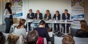 Vendredi, les responsables du programme du FMD ont expliqué le choix de la thématique devant la presse. Foto: Claude Truong-Ngoc / Eurojournalist(e)
