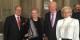 Le Consul de Malte Eric Mayer-Schaller, la lauréate, le Président de l'Académie Rhénane, le  Professeur Jean-Pierre Vetter avec son épouse, au Palais Rohan. Foto: EMS / Eurojournalist(e)