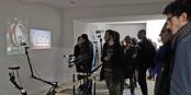 """Bei der Vernissage in """"La Chambre"""" entdeckten die Besucher Außergewöhnliches... Foto: Gabrielle Awad"""