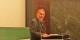 Le Professeur Nonnenmacher à l'Université de Freiburg, lors de son exposé sur la France. Mouais. Foto: Eurojournalist(e)