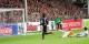 Mai 2015 - Rupp marque le 1-2 pour le SC Paderborn, poussant le SC Freiburg vers la descente de Bundesliga... Foto: Eurojournalist(e)