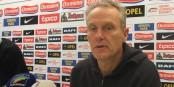 """""""De l'enthousiasme et la faim de vaincre"""", voilà ce que le coach fribourgeois Christian Streich attend des siens. Foto: AB / Eurojournalist(e)"""