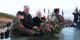 Staatssekretär Markus Grübel und Minister Jean-Marc Todeschini bei der Kranzniederlegung auf dem Hartmannswillerkopf. Foto: Eurojournalist(e)