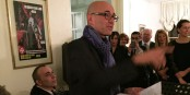 Le président du Conseil Général 67 Frédéric Bierry avec son discours qu'il n'allait pas prononcer... Foto: Antoine Spohr / Eurojournalist(e)