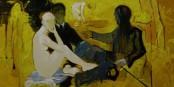 """Extrait de """"Déjeuner sur l'herbe"""" de Remlinger - présenté par la Galerie Froessel. Foto: Galerie Froessel"""