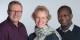 Das neue Freiburg-Team zur Flüchtlingshilfe-Koordination (von links): Thomas Tritschler, Antje Reinhard und Philip Bona. Foto: Büro für Migration und Integration der Stadt Freiburg.