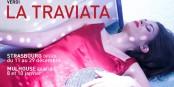 """9 Aufführungen der """"Traviata"""" in Strassburg und Mulhouse erwarten das Publikum am Oberrhein. Umwerfend. Foto: Opéra National du Rhin"""