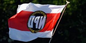 A partir de Mars 2016, les drapeaux du NPD risquent de ne plus être déployés. Foto: Wikimedia Commons / PD