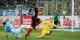 34e minute, Maximilian Philipp trompe le gardien de 1860 München Vitus Eicher et marque le 1-0 qui mit le SC Freiburg sur de bons rails. Foto: Eurojournalist(e)