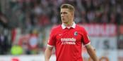 Au match aller contre le 1. FC Nürnberg, Nils Petersen avait marqué 3 buts... et le SC Freiburg espère qu'il sera en forme dimanche. Foto: Eurojournalist(e)