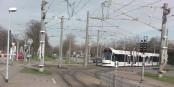 In Freiburg kann man heute zur Feier des Tages die Straßenbahnen und Busse kostenlos nutzen! Die Linie 4 erschließt ab heute den Freiburger Westen. Foto: Grauer Elefant / Wikimedia Commons / PD