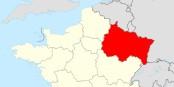 So sieht sie also aus, die neue ostfranzösische Großregion ACAL. Größer als mancher EU-Mitgliedsstaat. Foto: Superbenjamin / Wikimedia Commons / CC-BY-SA 4.0