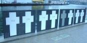 """De nombreuses personnes ont payé de leur vie la tentative de franchir les """"installations de sécurisation des frontières"""" de lex-RDA. L'AfD veut les réintroduire. Foto: Irish Typepad / Wikimedia Commons / CC-SA 2.0"""