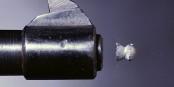 Un projectile quittant un pistolet à gaz. Ce genre d'armes est de plus en plus demandé en Allemagne. Foto: Niels Noordhoek / Wikimedia Commons / CC-BY-SA 3.0