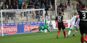 Le but de l'égalisation 1-1 était le tournant du match - que les Fribourgeois allaient perdre 1-3. Foto: Eurojournalist(e)
