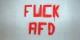 Si ce graffiti indiquerait que tout le monde n'apprécie pas les xénophobes de l'AfD, force est de constater que ce parti a actuellement le vent en poupe. Foto: Metropolico.org / Wikimedia Commons / CC-SA 2.0