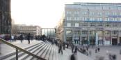 Cologne - aujourd'hui, plus rien ne fait penser aux horreurs que de nombreuses femmes ont vécues ici même la nuit de la Saint Sylvestre. Foto: Jeremy Burgin / Wikimedia Commons / CC-BY 2.0