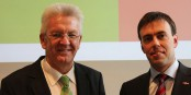 Winfried Kretschmann (Verts) et Nils Schmid (SPD) ne pourront pas poursuivre leur coalition à Stuttgart. Foto: GRÜNE Baden-Württemberg / Wikimedia Commons / CC-SA 2.0