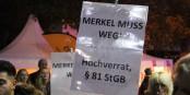 De nombreux allemands pensent que la chancelière Angela Merkel soit indirectement responsable pour les incidents de Cologne. Foto: Eurojournalist(e)