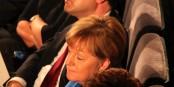 Il y a des rares moments où Angela Merkel peut oublier le cauchemar qu'elle vit actuellement au sein de son propre parti. Foto: Eurojournalist(e)