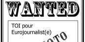 Nous te recherchons toi - pour soutenir le développement d'Eurojournalist(e) par tes compétences ! Foto: SobakaRU / Wikimedia Commons / PD