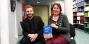 Le chercheur Antoine Ullestad et Professeur Frédérique Berrod lors de la présentation de leur livre. Foto: Eurojournalist(e)