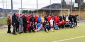 """Beim Fußballtraining """"Freunde statt Fremde"""" wird Integration im Sport gelebt. Ein tolles Projekt. Foto: Werner 2000 Kühn"""