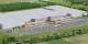 """Le modèle du nouveau centre logistique de """"Zalando"""" à Lahr. Foto: Goodman / Zalando"""