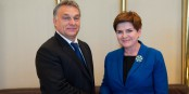 Viktor Orban et Beata Szydlo, assistés par la Slovaquie et la République Tchèque, tenteront d'imposer leur vue sur l'Europe lors du sommet à Bruxelles. Foto: P. Tracz / Chencellerie of the Prime Minister of Poland / Wikimedia Commons / PD